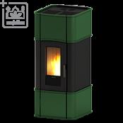 Каминa на пелети за топъл въздух с естествена конвекция Classic 11 V
