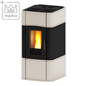 Каминa на пелети за топъл въздух с естествена конвекция Classic 7 V