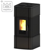 Пелетна камина за топъл въздух с естествена конвекция Classic 9 V